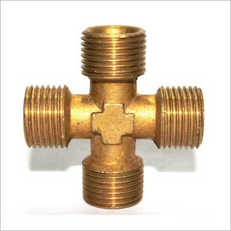 Brass Cross Male
