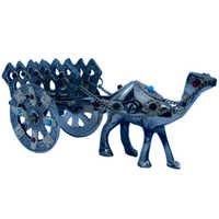 Little India Gemstone Studded Pure Brass Camel Handicraft -184