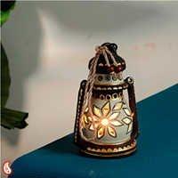 Handcrafted N Painted Lantern