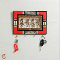 Dhokra Work Key Holder Big