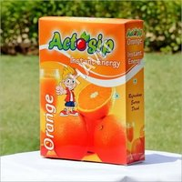 Orange Energy Drink