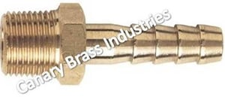 Brass Collar Hose Nipple