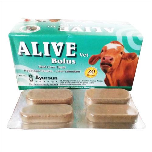 Veterinary med.-Liver Tonic-Alive Bolus