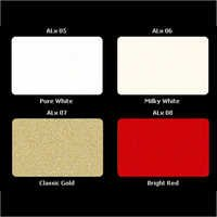 Exterior Coloured Applications Shade Card