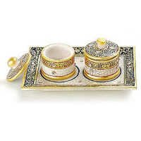 Marvel in Marble - Tray with containers - 042