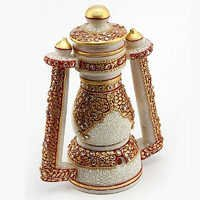 Marvel in Marble - Gold Embossed real Lantern - 73