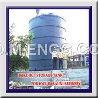 Vertical FRP Tank