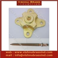 Brass Arrester Base with Rod