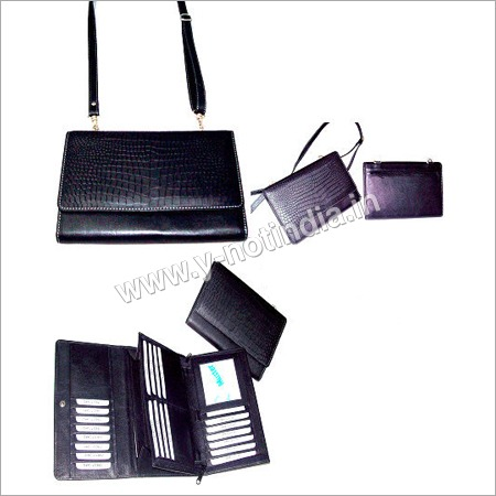 Ladies Leather Hand Purses