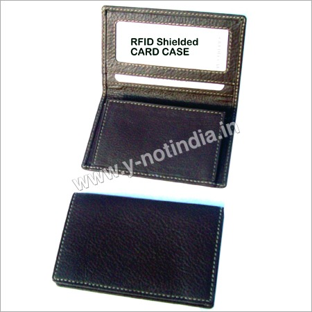 RFID Leather Card Case