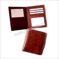 RFID Leather Passport Holder