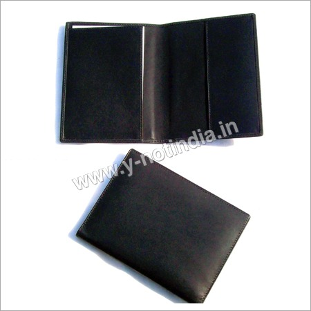 Leather Travel Organizer Folder