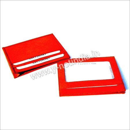 Business Leather Card Case