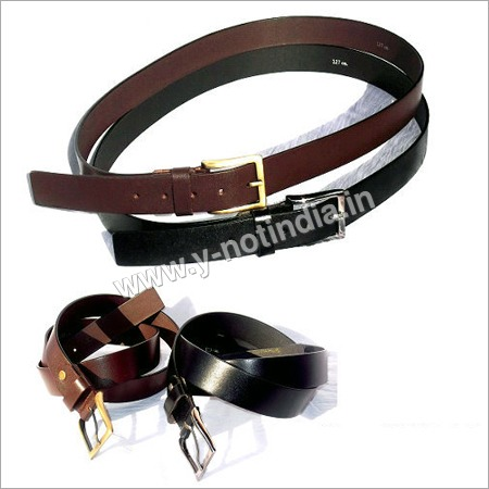 Mens Formal Leather Belts