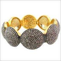 Diamond Pave Bangle Jewelry