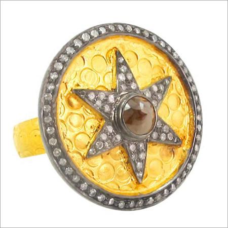 Yellow Gold Diamond Traditional Wedding Ring