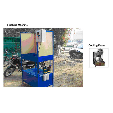 Flushing Machine & Cooling Drum