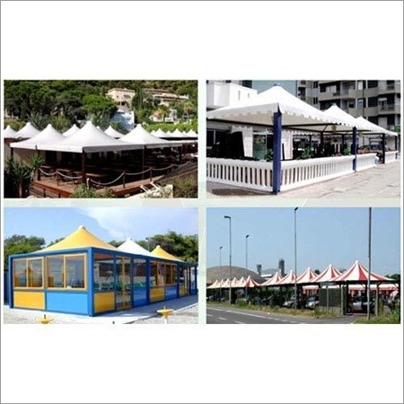 Air Conditioned Restaurant Canopy