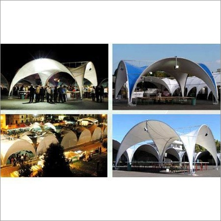 Cross Vault Exhibition Tent