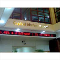 LED Stock Exchange Board