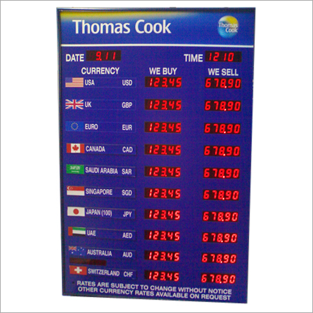 Forex Rate Sign