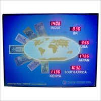 World Time Clock Displays