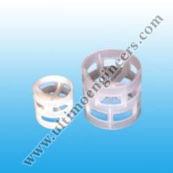 White Plastic Pall Ring