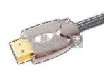 HDMI 19 Pin Plug to HDMI Plug Metal Shield Cord with Ferrite - 3 Meters
