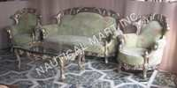 VINTAGE ANTIQUE LOOK SOFA SET
