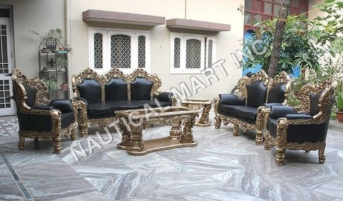 VINTAGE SET OF RAJA MAHARAJAS  STYLE SOFA