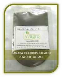 Banaba Leaf Extract Corosolic Acid