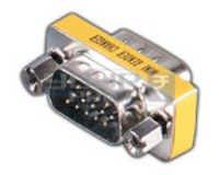 VGA HDDB 15 Pin Male to VGA HDDB 15 Pin Male Adaptor
