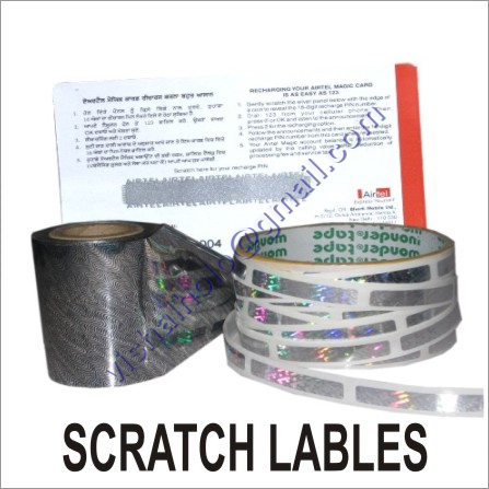Scratch Offs Labels