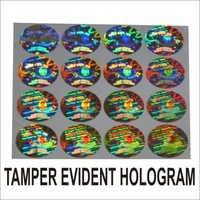 Tamper Evident Hologram