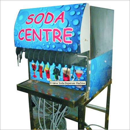 Soda Dispenser Machine (8 Valve)