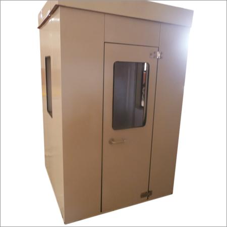 Sound Proof Operator Cabin