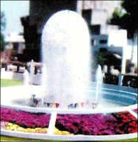 Ball fountain with foam jets
