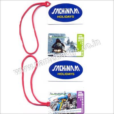 Plastic Luggage Tags