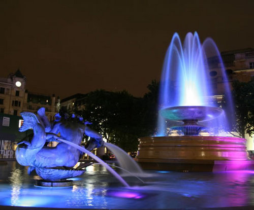Led fountain