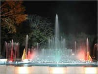 Lighting Fountains