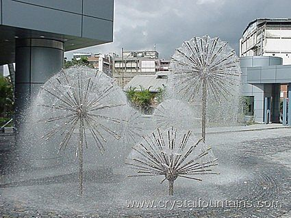 Multiple ball fountains