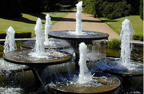 Outdoor garden fountains