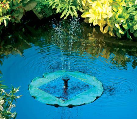 Solar Fountains