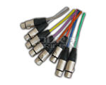 8 Core Snake Cable With XLR - 3 Meters