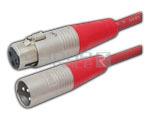 3 Pin Female XLR to Male XLR - 3  Meters