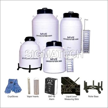 Rack Type Liquid Nitrogen Containers