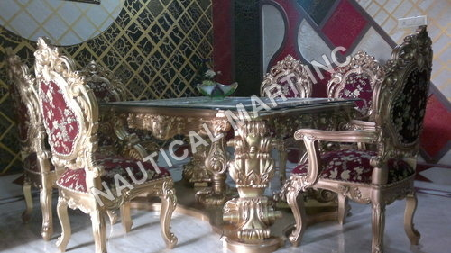 WOODEN SET OF DINNING
