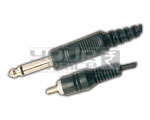 TS Male 1/4'' Mono jack to Rca  cord - 5 Meters