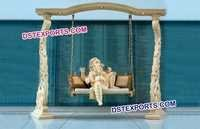 Latest Indian Wedding Carved Jhula