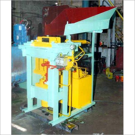 Manual Type Brick Making Machine